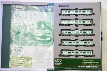 KATOカトーNゲージ10-553 E231系常磐線の買取価格