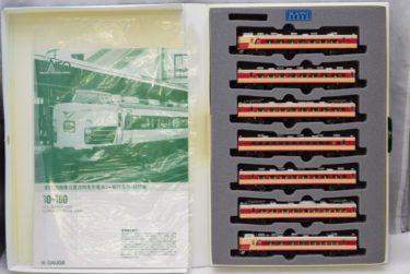 KATOカトー10-160Nゲージ 183系1000直流特急電車7両セットの買取価格
